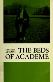 The beds of academe by Howard Adelman