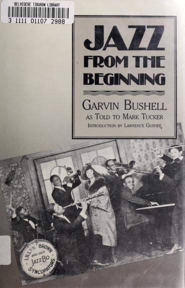Jazz from the beginning by Garvin Bushell