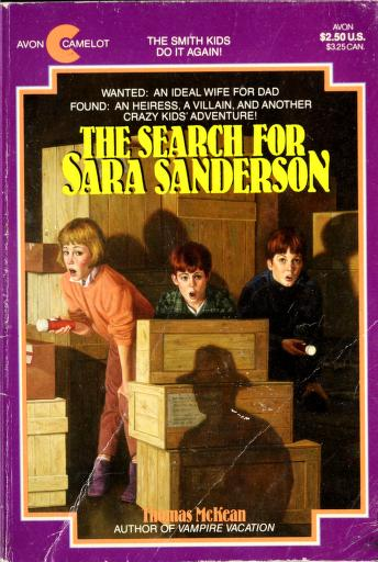 The search for Sara Sanderson by Thomas McKean